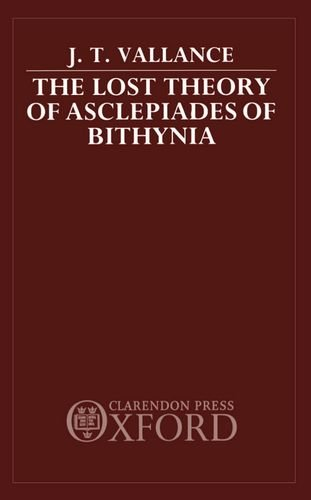 Lost Theory of Asclepiades of Bithynia