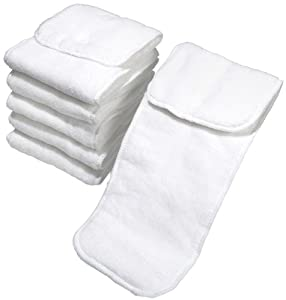 Cotton Babies One-Size Micro-fiber Inserts - 6 pk