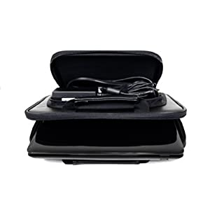 Samsung N120 10.1-Inch Netbook CaseCrown Double Memory Foam Thin Netbook Case With Front Pocket (Black)