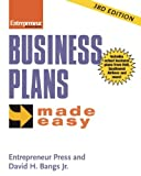 img - for By Entrepreneur Press Business Plans Made Easy (Entrepreneur Made Easy Series) (Third Edition) book / textbook / text book