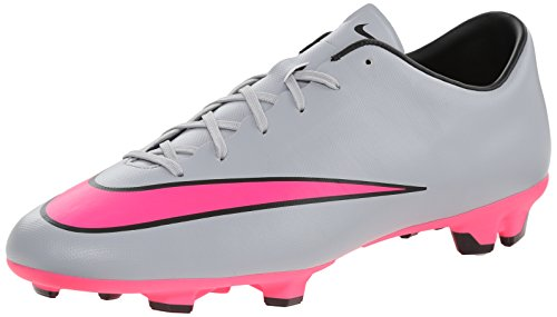 Nike - Mercurial Victory V Fg, Scarpe Running Uomo, Bianco (Bianco (White/Pink)), EU 45 (US 11)