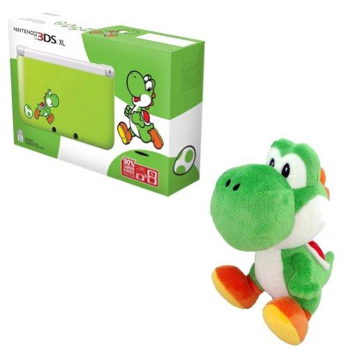 Yoshi Edition Nintendo 3Ds Xl System + Yoshi Plush
