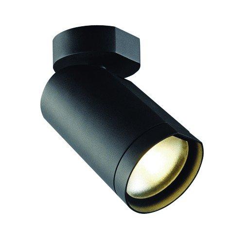 SLV Wandstrahler Bilas Spot Deckenstrahler, single, 16W, COB LED, 2700K, 25 Grad, schwarz 156420