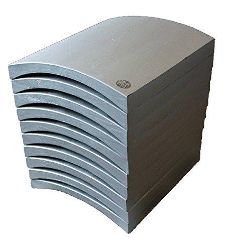 割れやすい空手瓦(試割り瓦) 黒帯