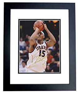 Carmelo Anthony Autographed Hand Signed Syracuse Orangemen 8x10 Photo - BLACK CUSTOM... by Real+Deal+Memorabilia