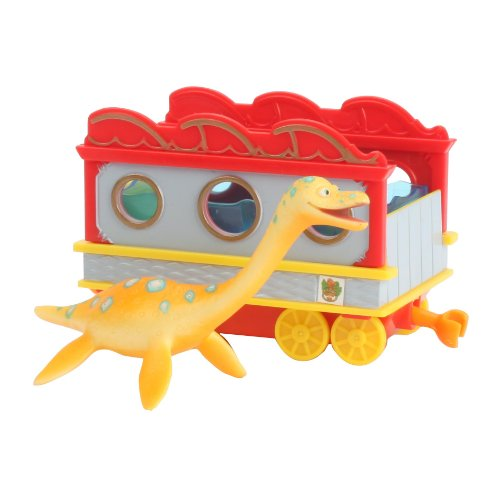 Dinosaur Train Collectible Dinosaur With Train Car: My Friends Can Swim: Elmer back-984661
