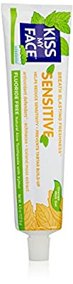 Kiss My Face Sensitive Gel Toothpaste, 4.5 Ounce