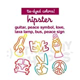 Stretchy Shapes Shaped Rubber Bands Bracelets 24Pack Hipster