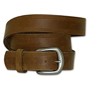 tanned genuine leather work belt made in usa 64