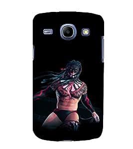 printtech Tribal Man Wrestler Back Case Cover for Samsung Galaxy Core i8262::Samsung Galaxy Core i8260