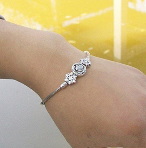 sunnyshopdayshopdayTibetan10303 Tibetan Silve hand chain bracelet Bangle jewelry sterling silver quality jewel image