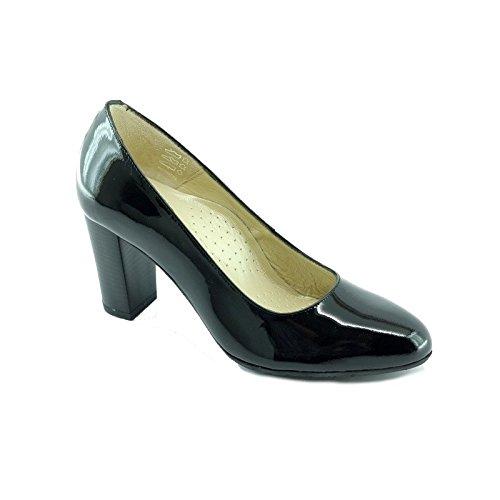 Escarpins d'Hotessesescarpin - Scarpe col tacco Donna , Nero (V-Noir), 41