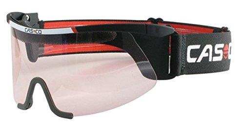 Casco Brille Nordic Vautron competition schwarz, Nordic Skibrille