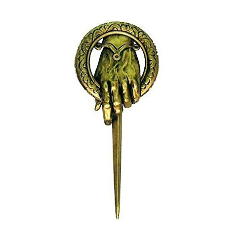 2016-Hot-Selling-Song-of-Ice-and-Fire-Game-of-Thrones-Hand-Of-The-King-PinBrooch-Diameter-of-5-cm
