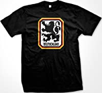 Deutschland Germany Lion Coat Of Arms Mens T-shirt, German Country Pride Men's Tee Shirt