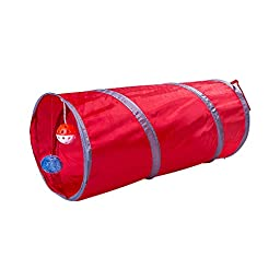 New York Mall New Best Folded Cat Tunnel Cat /Cat Fun Tunnel/cat Toys (Red)