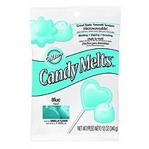 Wilton 1911-1351 Candy Melts 12-Ounce Blue