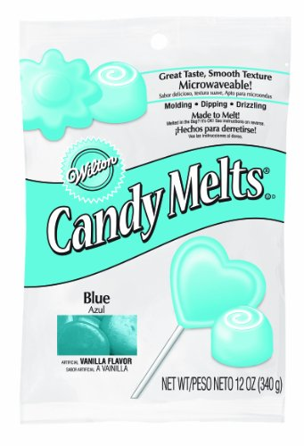 Wilton 16911-1352 Blue Candy Melts, 12-Ounce