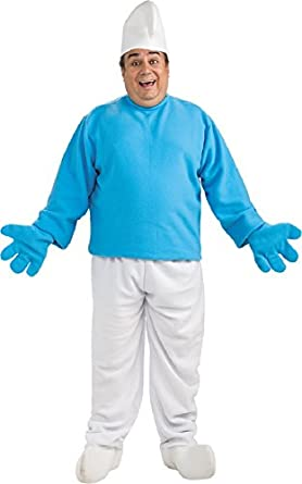 Rubies Mens Smurfs Tv & Movie Characters Theme Party Fancy Costume