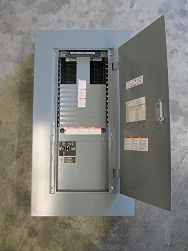 Square D 125 Amp 600Y/347 V 3Ph 4W Main Breaker Type Nf Panel Panelboard Nf430M1