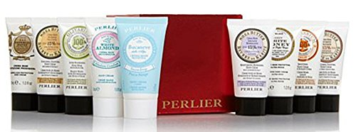 Perlier Mini Hand Cream Traveler Set ~ 9 piece Variety Set (Miel Hand Bag compare prices)