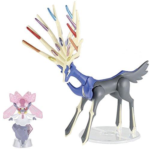 Pokemon Plastic Model Collection select series diesel Ne Ass & Deanne Sea set - 1