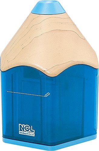 ナカバヤシ 電動鉛筆削りき えんぴつタイプ ブルー DPS-311KB