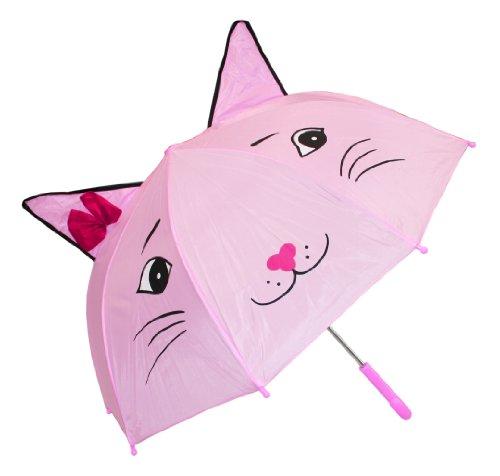 Imagen principal de Idena 7860018 -Paraguas para niños con gato diametro de 94 cm