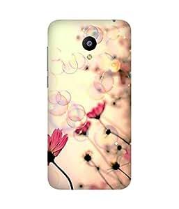 Bubbles And Flowers Meizu M2 Case