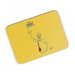 PosterGuy A4 Mouse Pad - Saada Virat Aj Khel Reya Hai? Funny Typo | Designed by: Dhappa