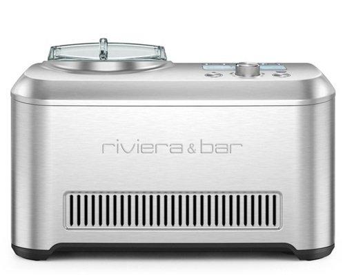 Riviera & Bar PG820A Turbine à Glace Virtuo Gelato Inox Class 800