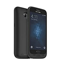 mophie Juice pack for Samsung Galaxy S6 (3,300mAh) - Black - (Certified Refurbished)