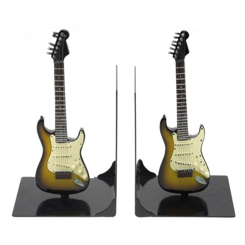my-music-gifts-fender-stratocaster-guitar-bookends