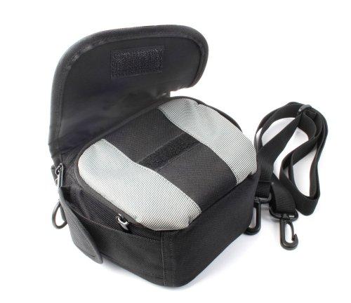 Outdoor-Tasche für Samsung Digitalkameras NX5 und NX20 (wasserabweisend, schwarz-grau)