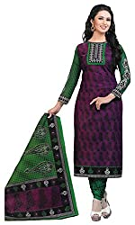 Digital Printed Cotton Suit Dress Material
