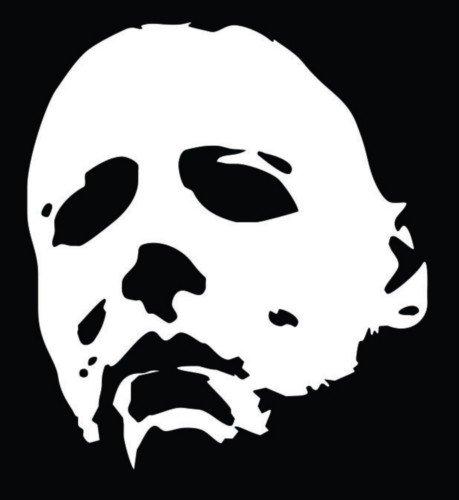 michael-myers-halloween-vinyl-decal-sticker-walls-cars-trucks-vans-laptops-white-55-in-tall-kcd722