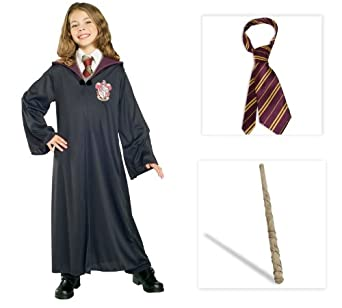 Amazon.com: Harry Potter's Hermione Child Costume Including Gryffindor
