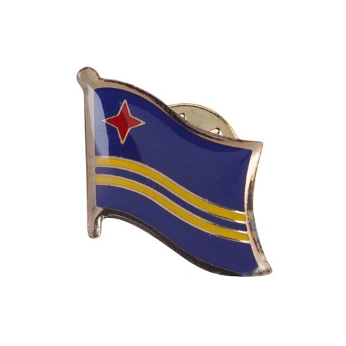 World Flag Pins - Aruba OSFM (World Flag Pins compare prices)