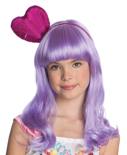Katy Perry Child's California Gurl Purple Costume Wig