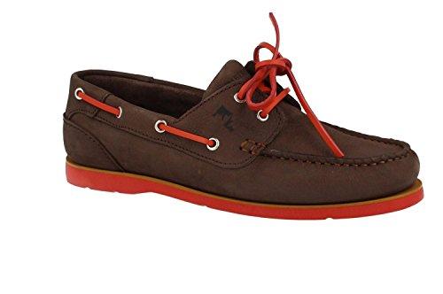 Scarpe da barca per gli uomini, color Marrone , marca LUMBERJACK, modelo Scarpe Da Barca Per Gli Uomini LUMBERJACK HOLES Marrone