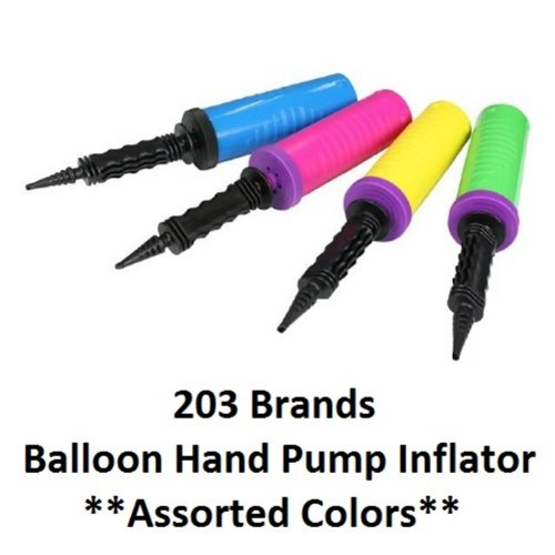 Balloon Hand Pump Inflator (BP-01) - ONE PUMP (Color Varies) - 1