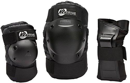k2-prime-pack-de-protege-poignet-coudiere-genouillere-homme-noir-xl