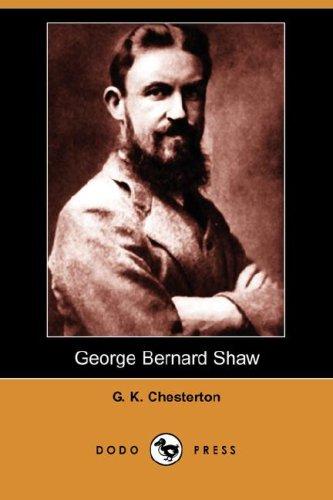 George Bernard Shaw (Dodo Press)