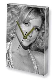 ALI BASTIAN - Canvas Clock (LARGE A3 - Signed by the Artist) #js002