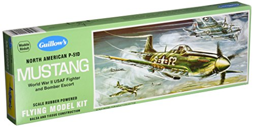 Guillow's North American P51D Mustang Model Kit