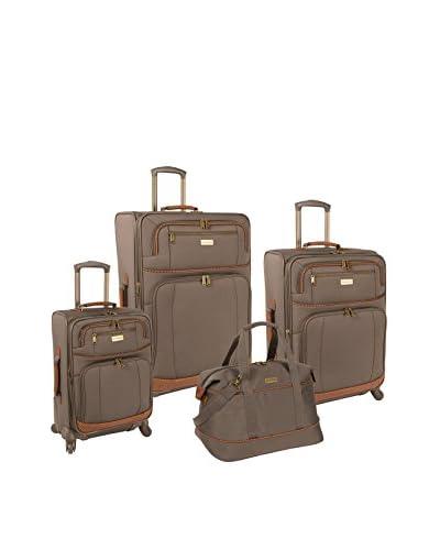 Tommy Bahama Mojito 4-Piece Luggage Set, Brownstone