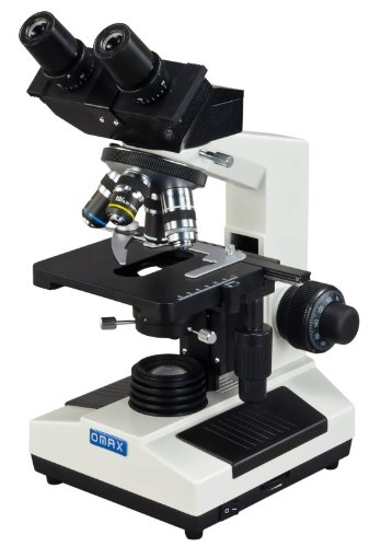 Omax 40X-1000X Compound Binocular Microscope With Oil Darkfield Condenser