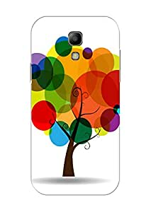KanvasCases Printed Back Cover for Samsung Galaxy S4 Mini + Free Earphone Cab...