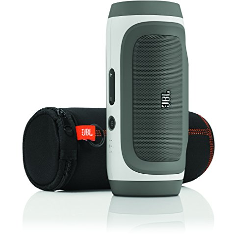 JBL Charge Portable Wireless Stereo Speaker and Charger with Bluetooth (Gray)