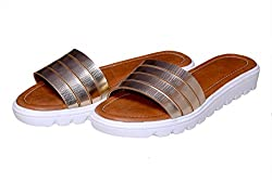 Visach slip-On for Women 101_Golden_40